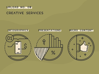Infogravy | Creative Services Icons