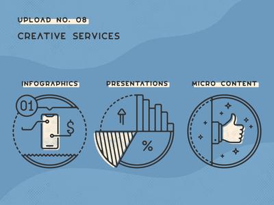 Infogravy | Creative Services Icons
