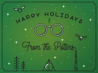 Infogravy | Potter Holiday Card