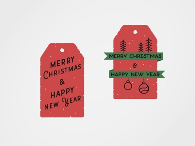 Infogravy | Holiday Gift Tags merrychristmas christmas typography icon design iconography dribbbleweeklywarmup custom icon design vector outline illustration flat design line art