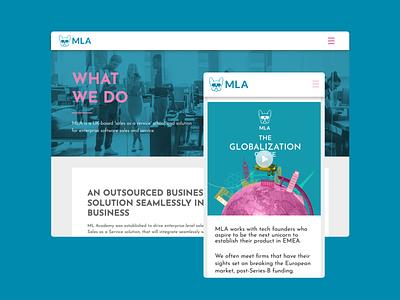 mlacademy.co.uk/the-globalization-curve vector website web illustration typography graphic design design ui