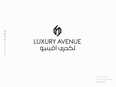 Luxury Avenue LOGO luxury avenue lana-services animation graphic design branding brand logo