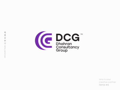 DCG LOGO website web vector ux ui typography illustration lana-services animation graphic design branding brand logo