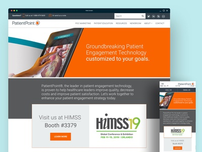HIMSS Landing Page
