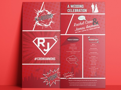 Coming Book Wedding Programs