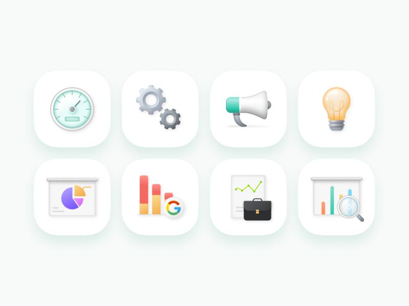 Analytics Icons icon analysis graph dashboard search business chart analytics icon design sketch box set icons web shadow minimal clean ui design illustration