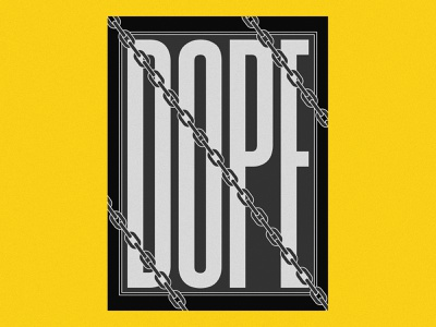 NONSENSE 3 BW swag bling dope hiphop black and white bw poster design poster art poster yellow capital letter typography illustration design
