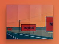 3 Billboards out of Ebbing, Missouri - Illustration