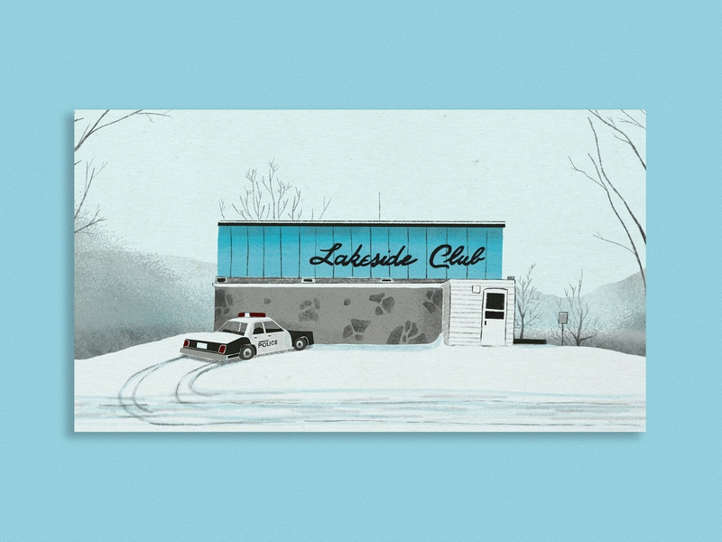 Lakeside Club - Fargo procreate art procreateapp procreate movie illustration movie art fan art fanart fargo illustration art digital art 2d illustration