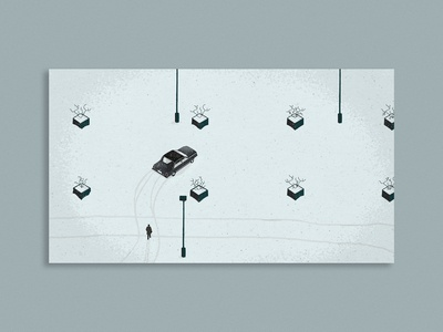 Parking Scene - Fargo