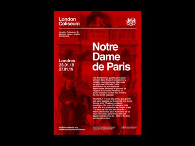 Poster #1 - Notre Dame de Paris