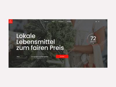Paradeisa - website concept