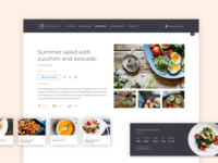 Personalised meal planning app