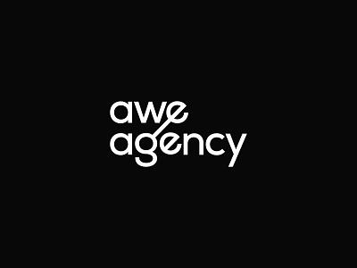 Awe-Agency logo logodesign branding brand vector modern minimal logo design logo