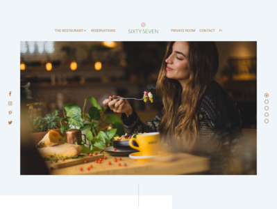 Sixty Seven | Restaurant Homepage