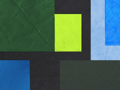 Personal Brand Collage layout material cover geometry scan branding texture paper collage