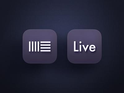 Ableton - Big Sur Edition Icon mac macos live ableton shading music 3d icon apple big sur
