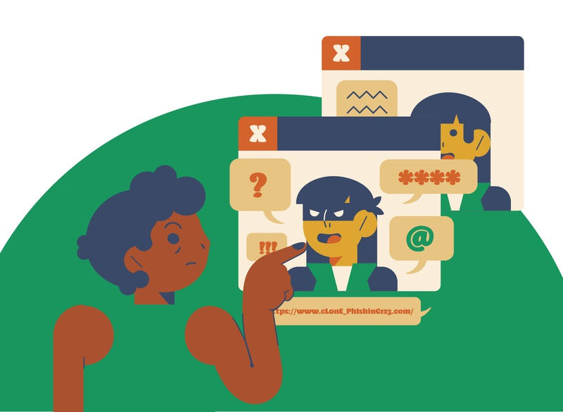 Clone Phishing illustrator illustration digital illustration design illustration art illustrations illustration