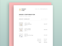 Daily UI 17-Email Receipt