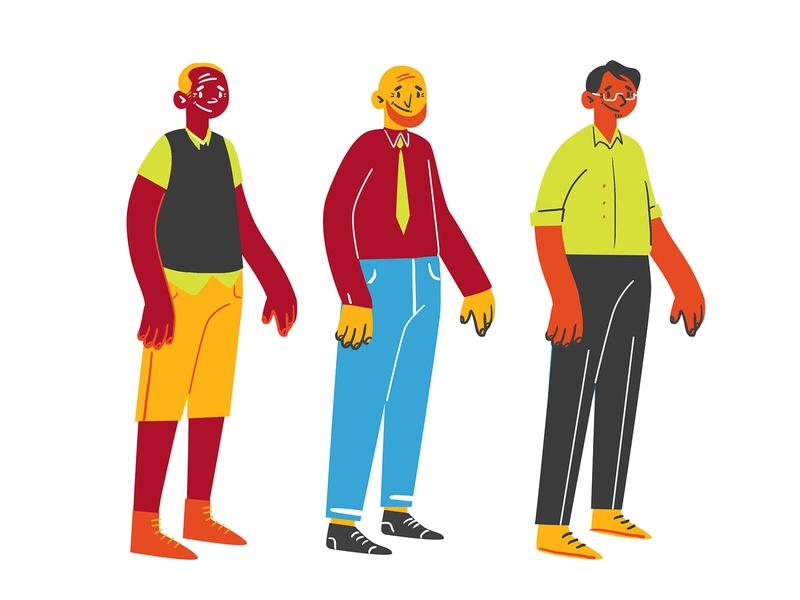 Centennial College Teacher Concepts Pt. 2 motion animation school education teacher student conceptart illustrator vector characterconcepts characterdesign character design illustration