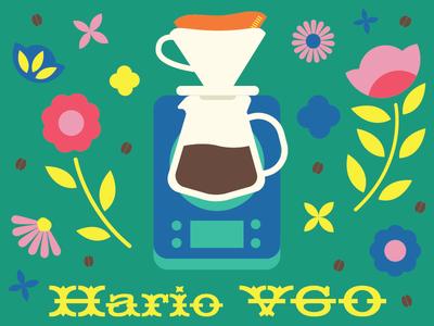 Coffee Flowers Hario V60