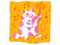 Jazz cat:  Bass