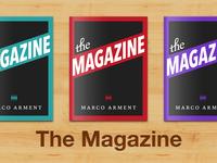 The Magazine Cover Art