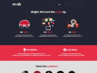 Mash website f