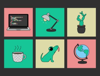 pics and logo for the froggodoggo website