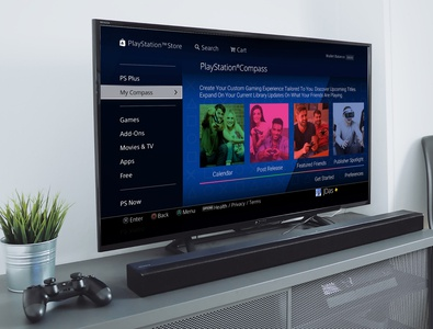 PlayStation Compass - HDTV & PlayStation 4 Prototype