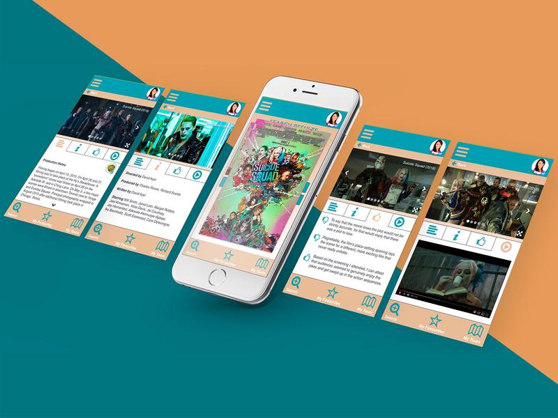 SceneScout - Mobile App Prototype