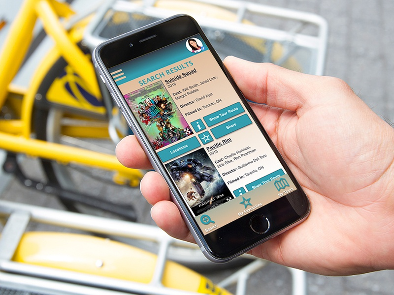 SceneScout - Mobile App Search Results