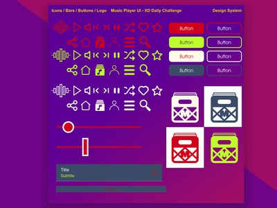 Milkcrate - Music Player UI Kit