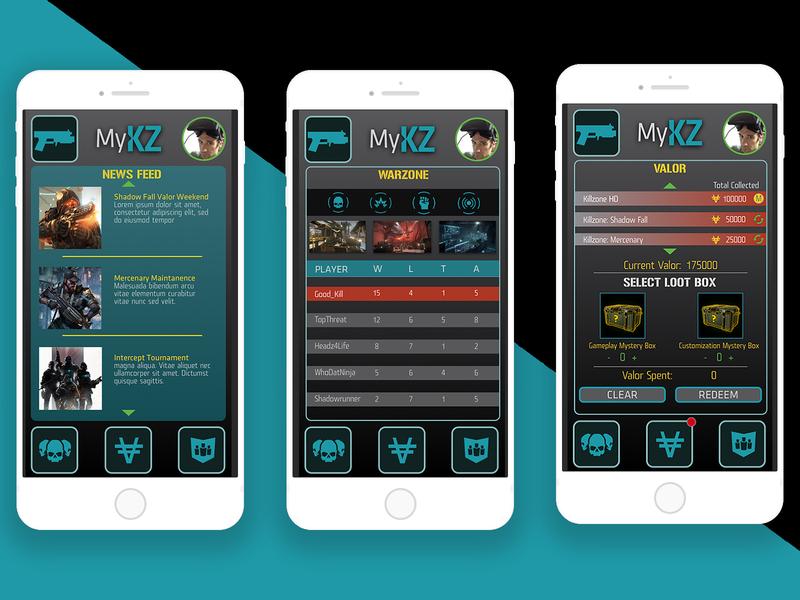 MyKZ - Companion Mobile App Prototype