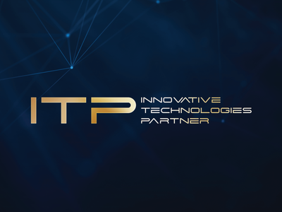 ITP Innovative Technologies Partner it logodesign brand design branding luxury branding luxury partner technologies innovative logo