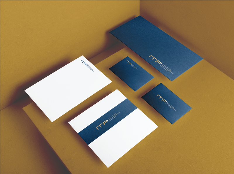 ITP Innovative Technologies Partner Stationery kraków luxury branding luxury brand luxury logo it luxury stationery luxury stationery design stationery set stationery