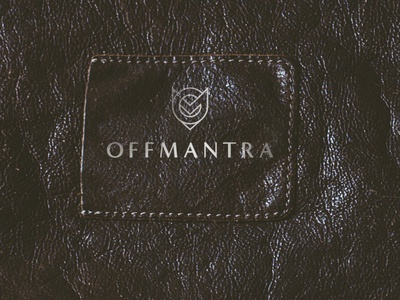 OFFMANTRA Shoes Brand Logo clear simple minimalistic gold leather luxury branding shoes brand shoes luxury logo luxury logo