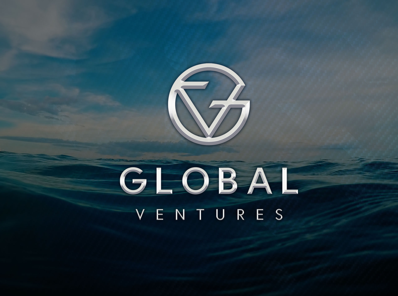 Global Ventures Electric Boats carbon see luxury branding luxury design luxury logo silver logo branding and identity branding design branding