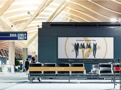 Outdoor Jet Concierge Europe simple prestige branding luxury logo luxury design luxury branding luxury aviators aviator aviation airport poster outdoor