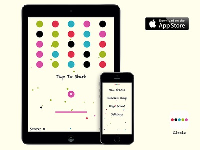 Circle~ Available on the App Store