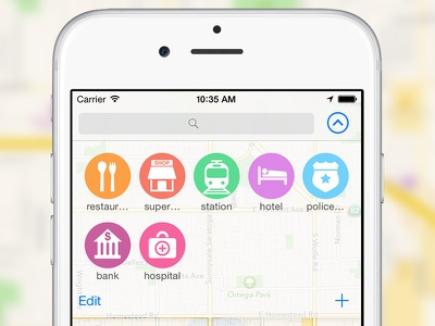 Quick Search pins station bank shortcut quick icon search