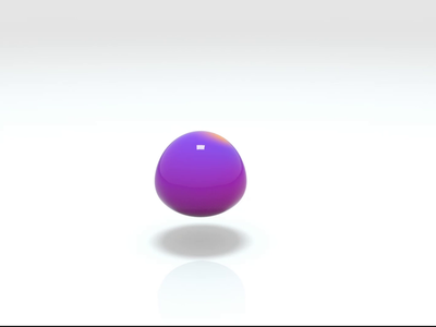 Abstract Droplets blob motion design 3d art cinema4d 3d