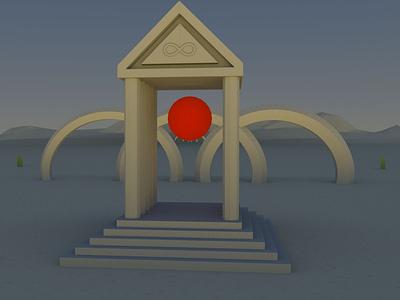 It All Falls 3d animation mograph motion design abstract art 3d art 3d geometry cinema4d