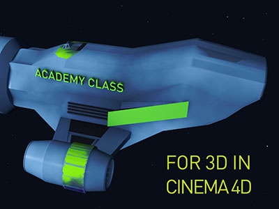 Lost in Space lost space academy class universe spaceship animation course c4d cinema 4d 3d lost in space