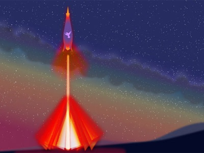 Illustration Fuel earth course training scifi adventure academy class flight illustration unknown universe space rocket fuel