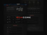 Suncore - Hosting template