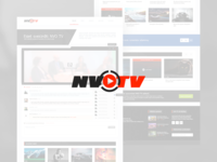 NVO TV - Website template
