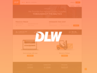 DLW - Logistics page layout