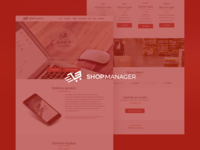 Shopmanager - E-commerce template