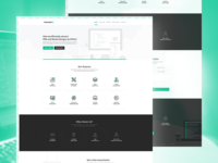 Frontend - Landing page